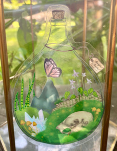 Terrarium Semi-Transparent Sticker