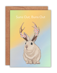 Suns Out Buns Out Card