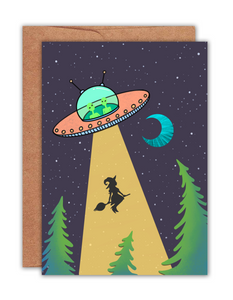 Alien Abduction Card