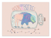 Load image into Gallery viewer, Bison in a Bottle 8x10 Print