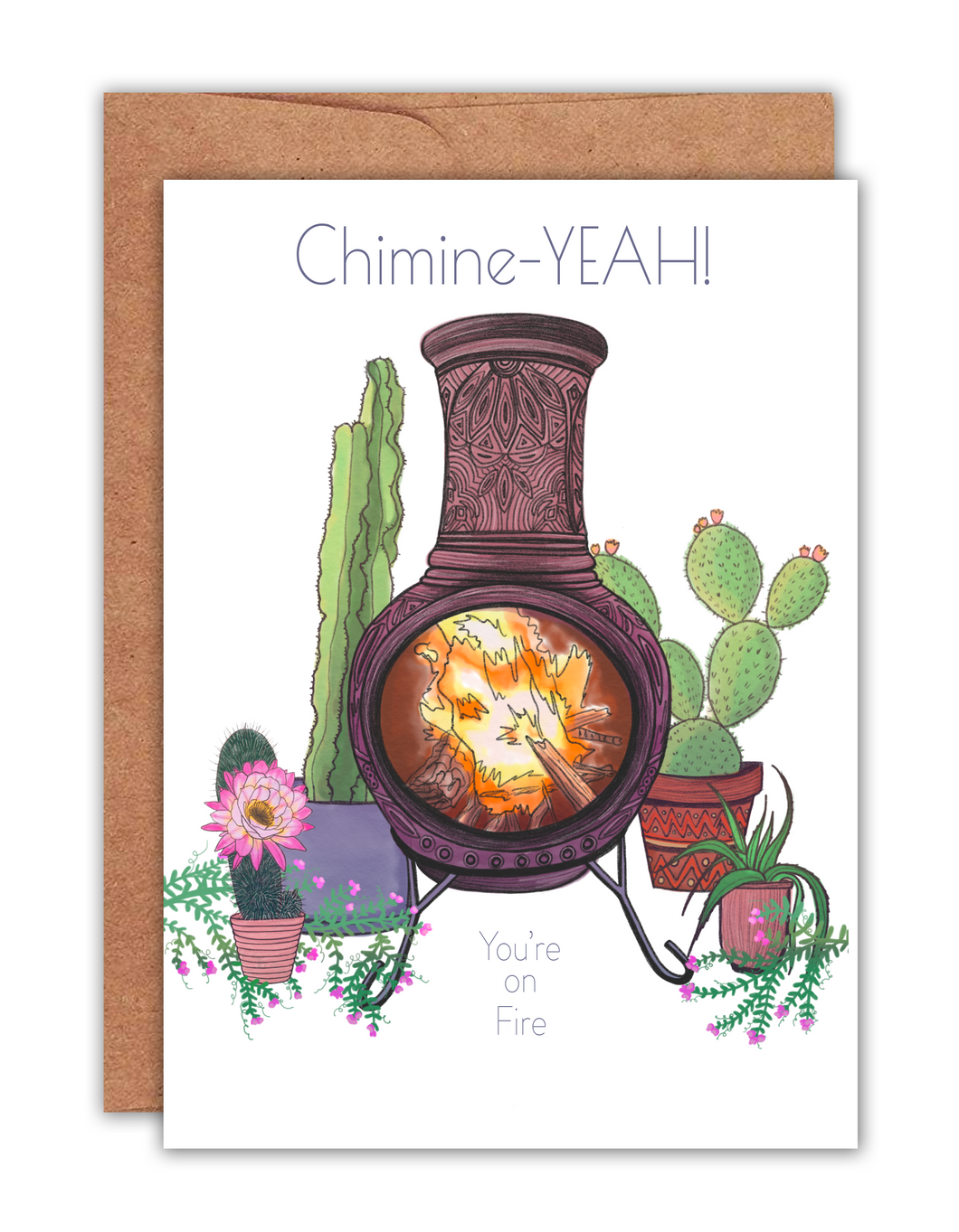 Chimine-YEAH You're on Fire Card