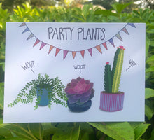 Load image into Gallery viewer, Party Plants Card