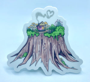Stump Sticker