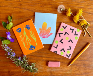 Block Printed Notebooks