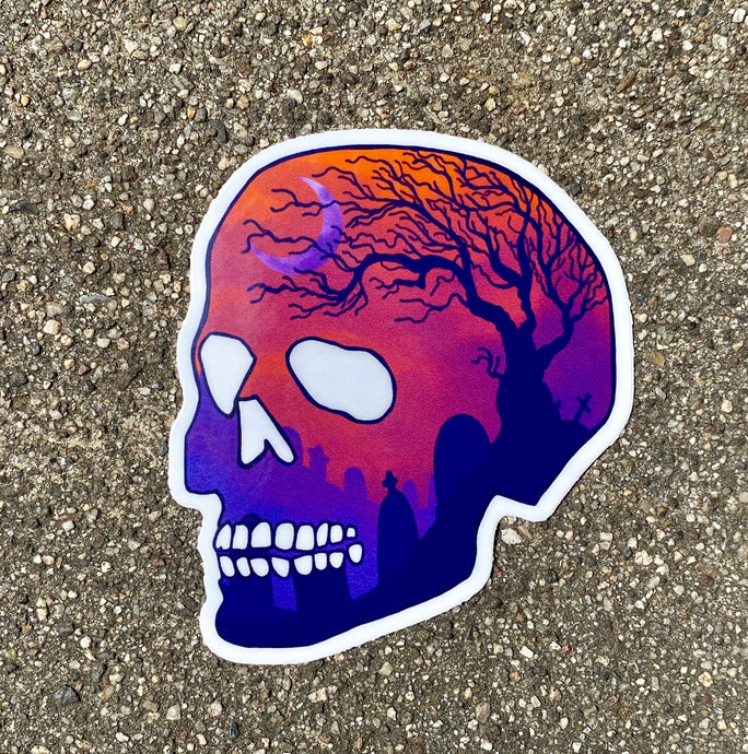 Graveyard Sticker
