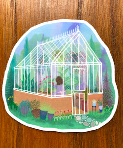 The Gardener Sticker