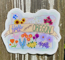 Load image into Gallery viewer, Wildflowers of Oregon Sticker