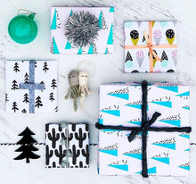 Load image into Gallery viewer, Sprinkle Trees Wrapping Paper / Gift Wrap Sheet