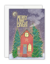 Load image into Gallery viewer, Merry and Bright Card