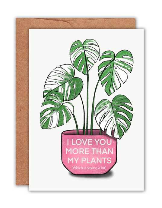 Plant Lover Card