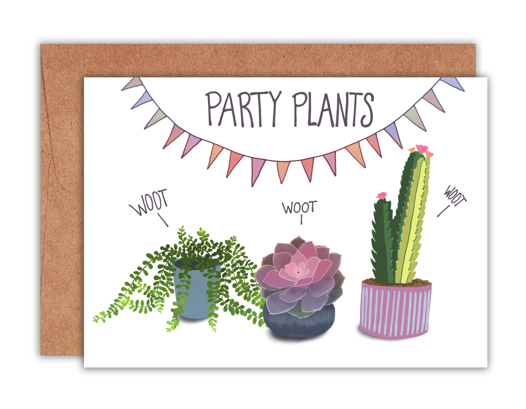 Party Plants Card