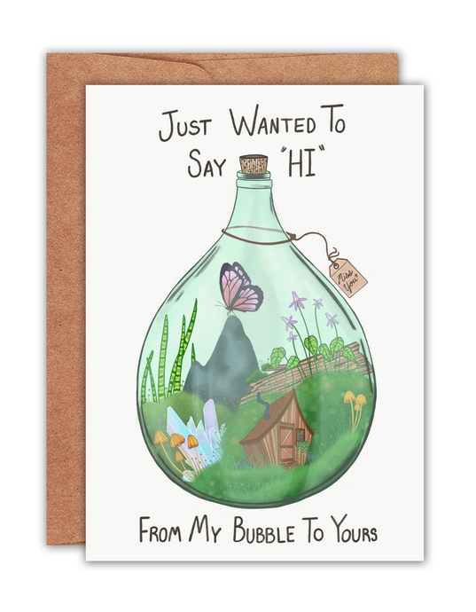 Quarantine Terrarium Card