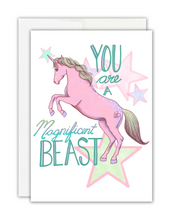 Load image into Gallery viewer, You are a Magnificent Beast Card