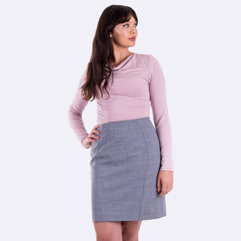 The latest on Sabrina, the perfect fit pencil skirt
