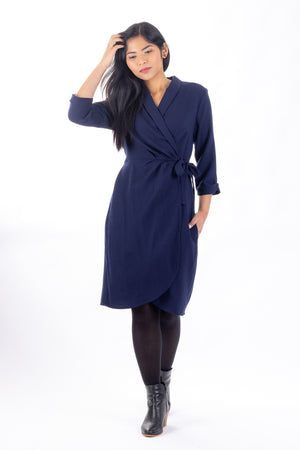 Adeline - Wrap dress and top (PDF pattern)