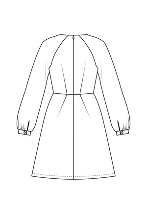 Valerie - Raglan dress (PDF pattern)