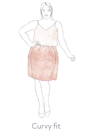 Sabrina - The perfect fit pencil skirt (PDF pattern)