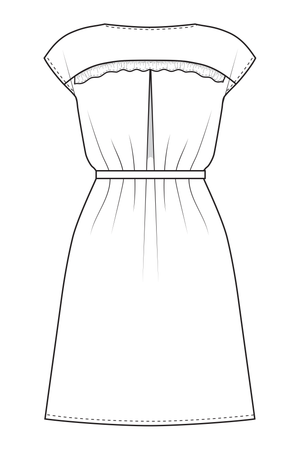 Lola - Blouse and dress (PDF Pattern)