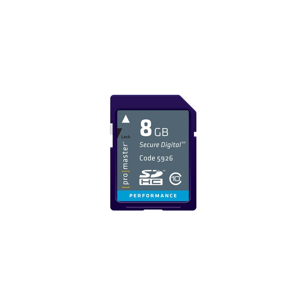 Promaster 8GB SD Memory Card