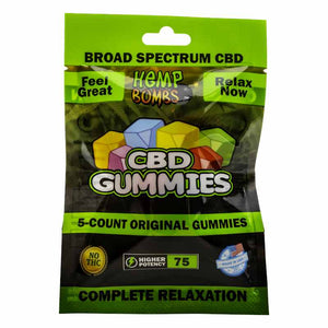 CBD Gummies 5ct - 75mg