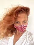 Red Keffiyeh Mask