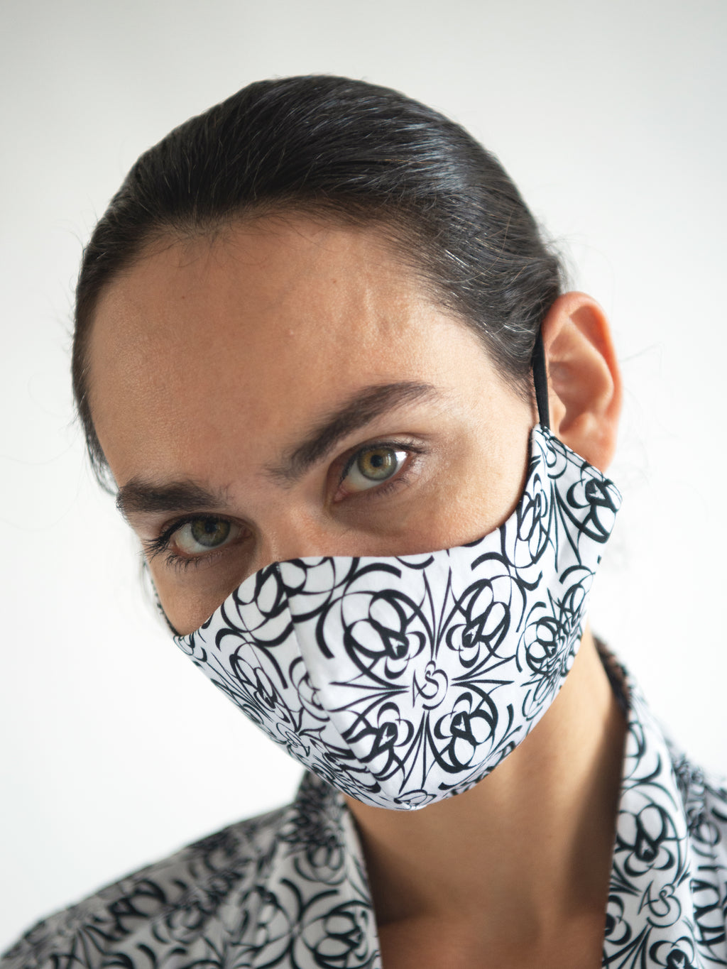 TILE LOGO FACE MASK