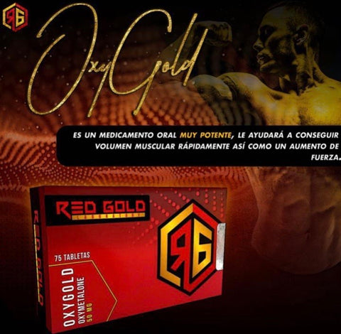 Oxygold ( Oxymetalona ) Red Gold