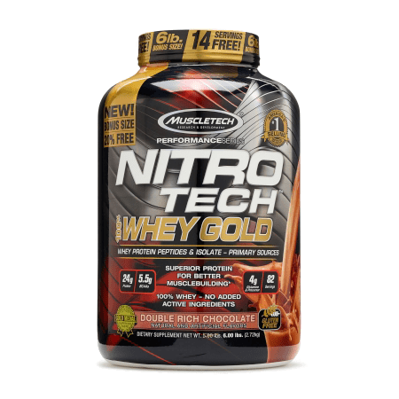 Nitrotech Whey Gold 5.5 LB