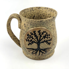 Load image into Gallery viewer, Tree of Life Mugs, Small - Handmade Ceramics from Ice + Dust Pottery