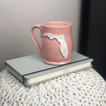 Load image into Gallery viewer, Florida Mug, Medium - Handmade Ceramics from Ice + Dust Pottery