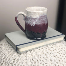 Load image into Gallery viewer, Colorblock Mug in Shadow, Sugarplum, and Snow