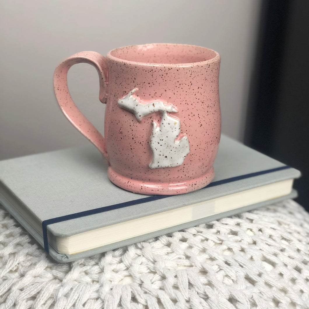 Michigan Mug, Small - Handmade Ceramics from Ice + Dust Pottery