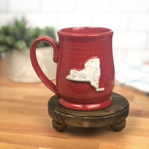 New York Mug, Medium - Handmade Ceramics from Ice + Dust Pottery