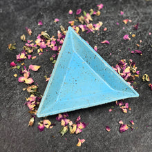 Load image into Gallery viewer, Triangle Trinket Dishes - Handmade Ceramics from Ice + Dust Pottery