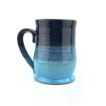 Load image into Gallery viewer, Colorblock Mug, Medium, Shadow and Sky - Handmade Ceramics from Ice + Dust Pottery
