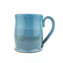 Load image into Gallery viewer, Colorblock Mug, Sapphire and Sky - Handmade Ceramics from Ice + Dust Pottery