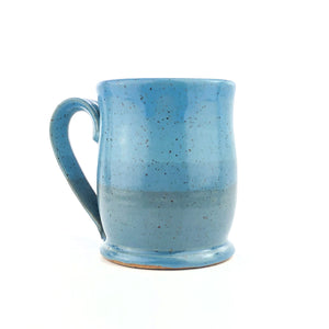 Colorblock Mug, Sapphire and Sky - Handmade Ceramics from Ice + Dust Pottery