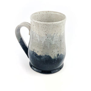 Colorblock Mug, Large, Shadow Slate and Snow
