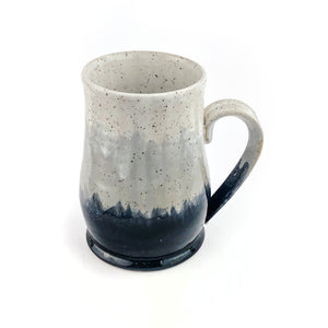 Misty Mountains Mug, Slate Grey - Handmade Ceramics from Ice + Dust Pottery