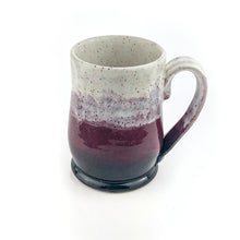 Load image into Gallery viewer, Colorblock Mug in Shadow, Eggplant and Snow