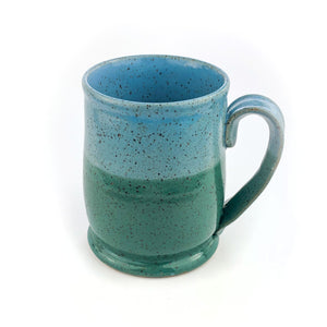 Colorblock Mug, Medium, Shamrock and Sky