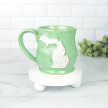 Load image into Gallery viewer, Michigan Mug, Small - Handmade Ceramics from Ice + Dust Pottery