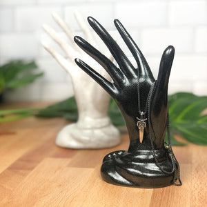 Jewelry Hand Display - Handmade Ceramics from Ice + Dust Pottery