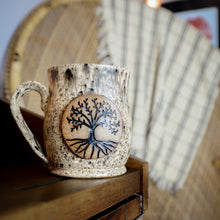 Load image into Gallery viewer, Tree of Life Mugs, Medium - Handmade Ceramics from Ice + Dust Pottery