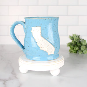 California Mug, Medium - Handmade Ceramics from Ice + Dust Pottery