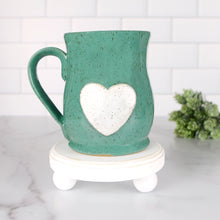 Load image into Gallery viewer, Heart Mug, Large - Handmade Ceramics from Ice + Dust Pottery