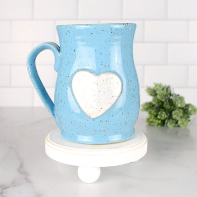 Heart Mug, Large - Handmade Ceramics from Ice + Dust Pottery