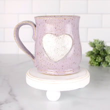 Load image into Gallery viewer, Heart Mug, Medium - Handmade Ceramics from Ice + Dust Pottery