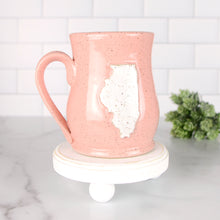 Load image into Gallery viewer, Illinois Mug, Medium - Handmade Ceramics from Ice + Dust Pottery