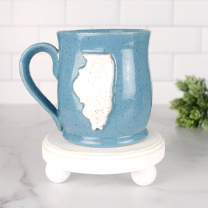 Illinois Mug, Medium - Handmade Ceramics from Ice + Dust Pottery